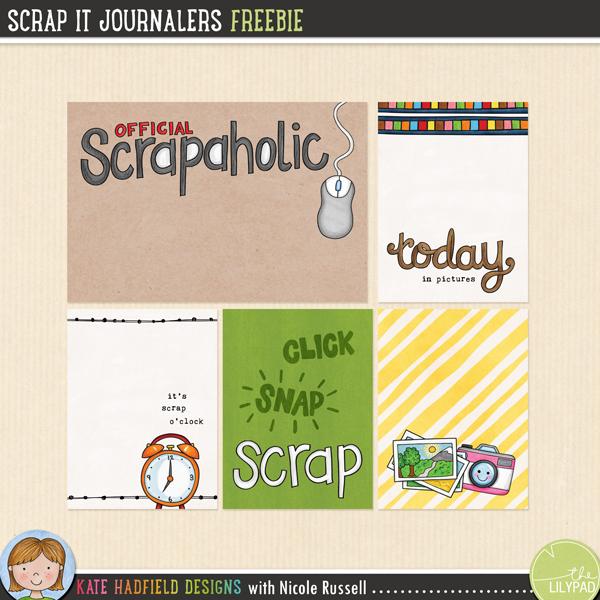 Scrap It Journalers
