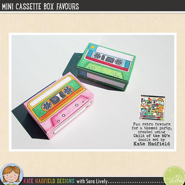 Cassette Box Favours